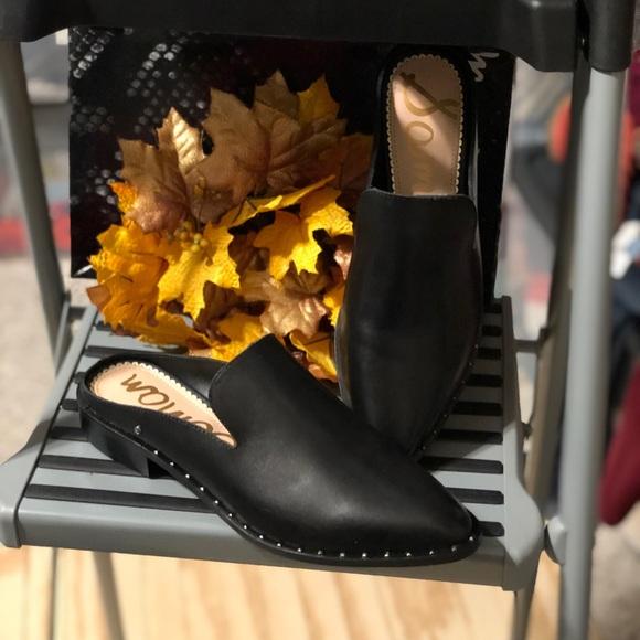a710feec5ef SAM EDELMAN Lewellyn Mule- black leather